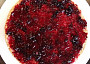 natřený korpus marmeládou
