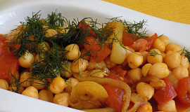 Rajčatovo-cizrnové kari