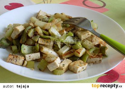 Tofu s chřestem