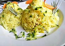 Cuketová rýže s mrkví