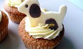 Cupcaky s vanilkovým krémem