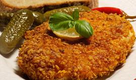 Kuřecí hořčicový řízek obalený v cornflakes