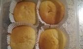 Meruňkové muffiny - hrnkové