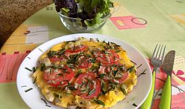 Omeleta s chřestem