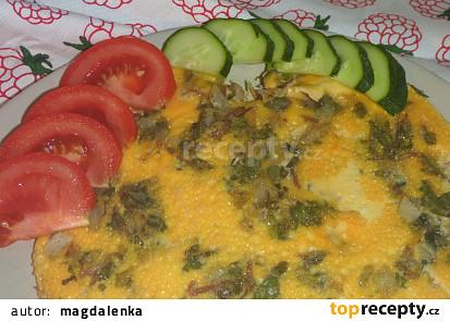 Omeleta se šruchou