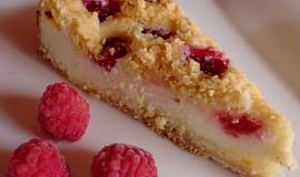 Rychlý tvarohový koláč z drobenky s ovocem