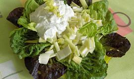 Salát z řapíkatého celeru s ricottou