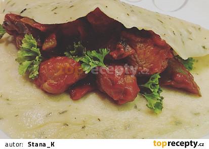 Slaná palačinka na mexický způsob