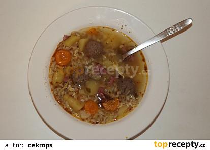 Brněnská pikantní polévka samotáře Rermora