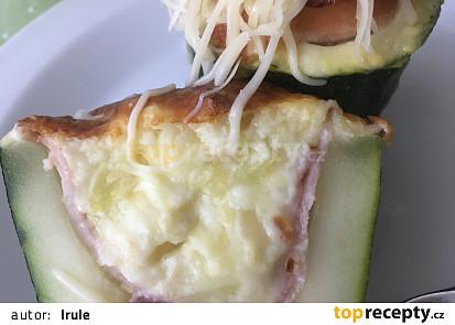 Cuketové komínky se sýrem