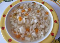 Květáková polévka - pro nejmenší