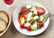 Melounový salát naslano