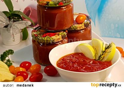 Pikantní tomatovo - cherry omáčka na pizzu a těstoviny