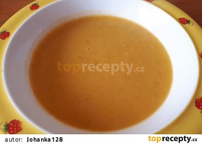 Batátovo-brokolicová krémová polévka - pro nejmenší