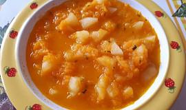 Mrkvová polévka s bramborami - pro nejmenší