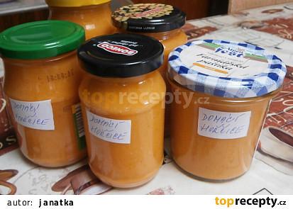 Pikantní hořčice z cukety
