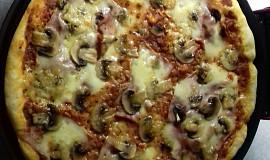 Pizza z domácí pizza pece
