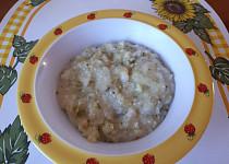 Rýžová kaše s brokolicí - pro nejmenší