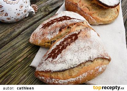 Světlý kvasový chléb