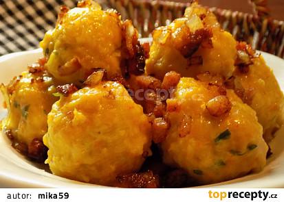 Dýňovo-bramborové knedlíky