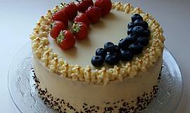 Mascarpone dort s citrónovou chutí