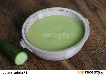 Okurková RAW polévka