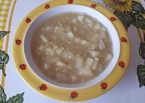 Patizonová polévka s cuketou - pro nejmenší