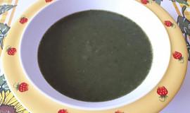 Špenátová polévka - pro nejmenší