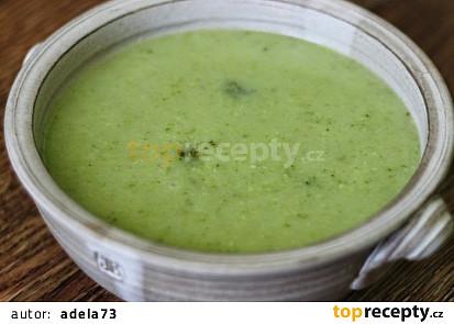 Brokolicová polévka veganská