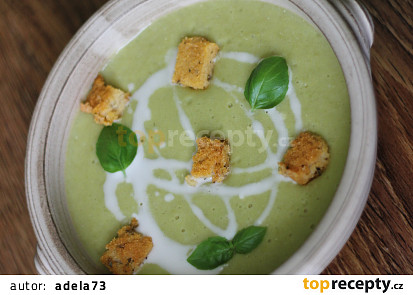Veganská hrášková polévka