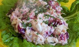 Věrky salát z bílého zelí