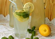 Bazalková limonáda