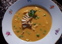 Krémová polévka z tresky