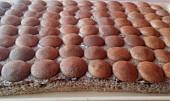 Ořechovo- kávové řezy s piškoty