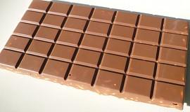 Tabulková čokoláda s burisony