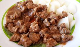 Hovězí guláš - pro nejmenší