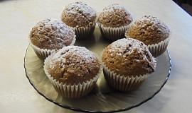 Jablečné muffinky s  Margot čokoládou
