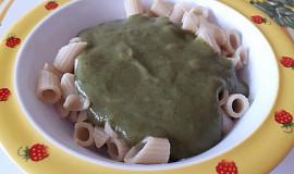 Mangoldovo-brokolicová omáčka - pro nejmenší