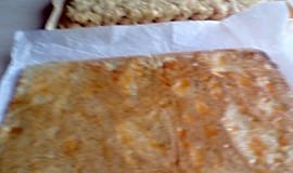 Medové jablečné řezy s piškoty