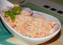 Salat z kořenové zeleniny s tofu majonézou