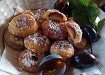 Smažené ovoce v lívancovém těstě