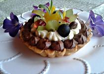 Tartaletky s pařížskou šlehačkou