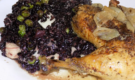 Černá rýže jako příloha