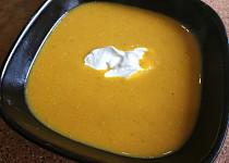 Dýňovo-mrkvová polévka