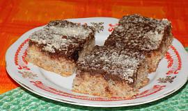 Krupicovo-jablečný koláč