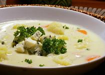 Květáková polévka s nivou