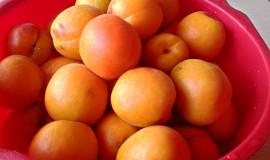 Meruňkové řezy se šlehačkou