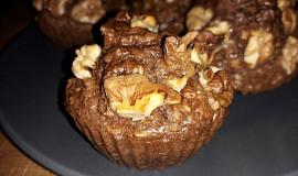 Perníčkové muffiny s ořechy