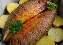 Ryba na bramborách pečená