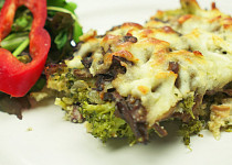 Brokolice s houbami